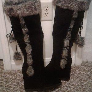 Heeled Boots, Cynthia, Black